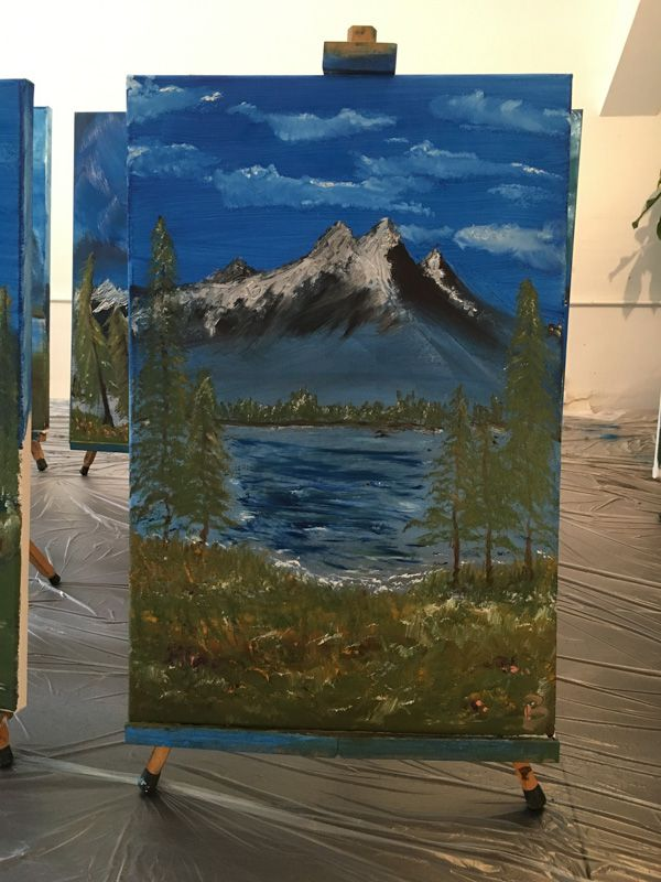Bob Ross Workshop