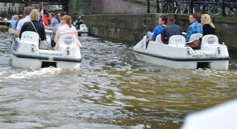Waterfiets Puzzeltocht