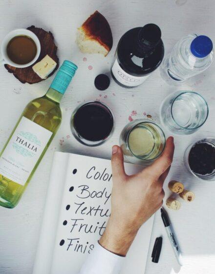 Online Wijnproeverij